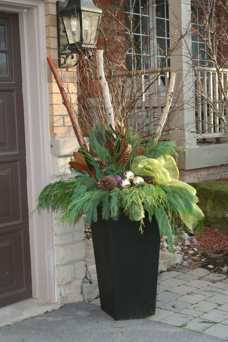 Ideas 2 Inspire: Christmas Planters