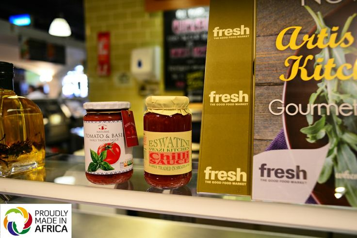 Delicious sauces from Meru Herbs and Eswatini Swazi Kitchen are now available in Fresh, Smithfield, Dublin 7!  Photo: Amira Tremont http://www.proudlymadeinafrica.org/