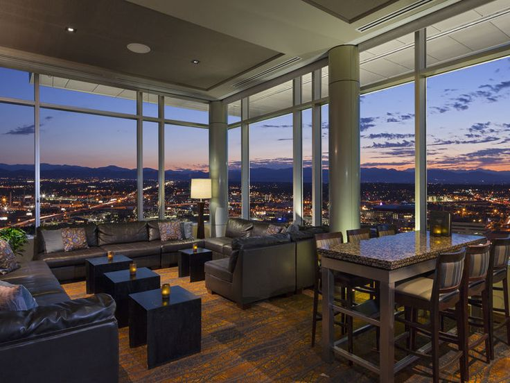 Hyatt Regency Denver Has Beautiful Views Of The Mountains