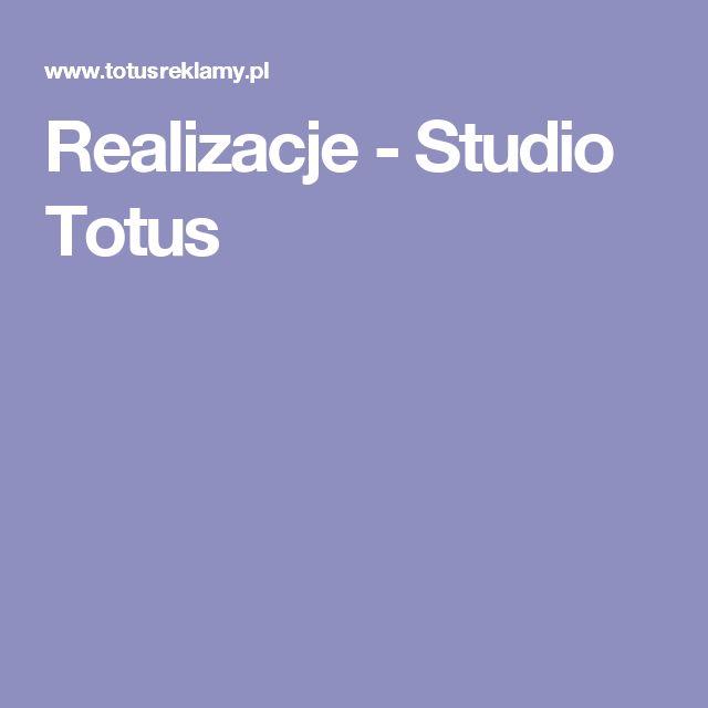 Realizacje - Studio Totus