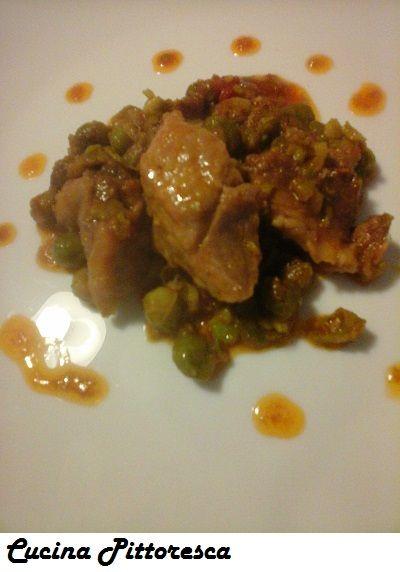 Spezzatino di piselli freschi e curry - Cucina  Pittoresca