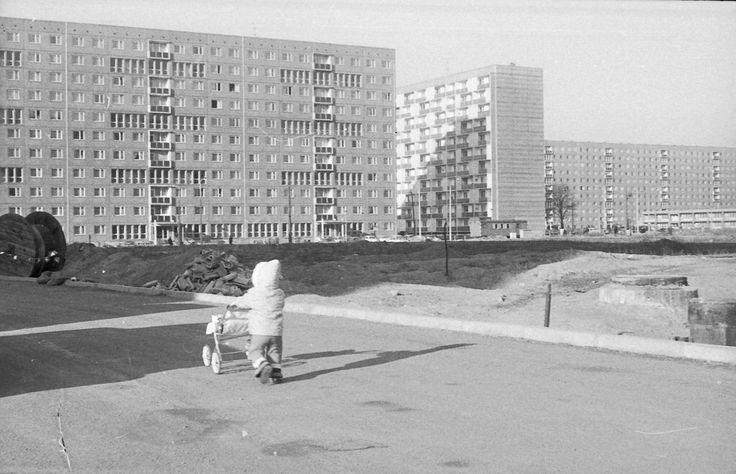 Neubaugebiet Leipzig Lößnig 1976