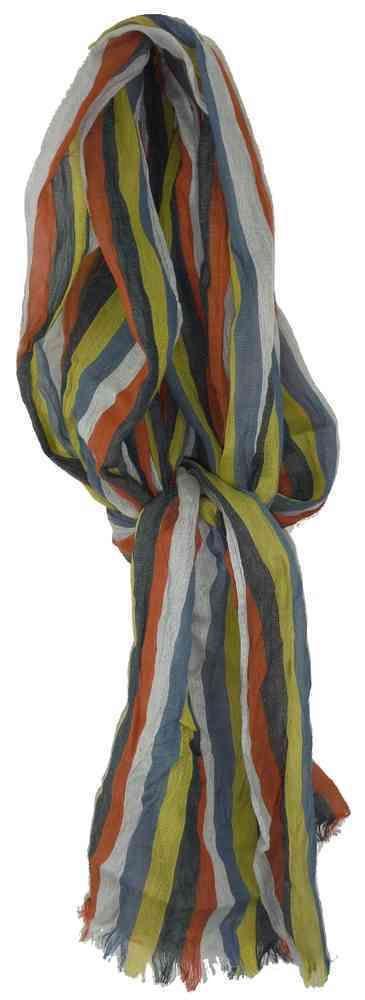 Sciarpa righe multicolor