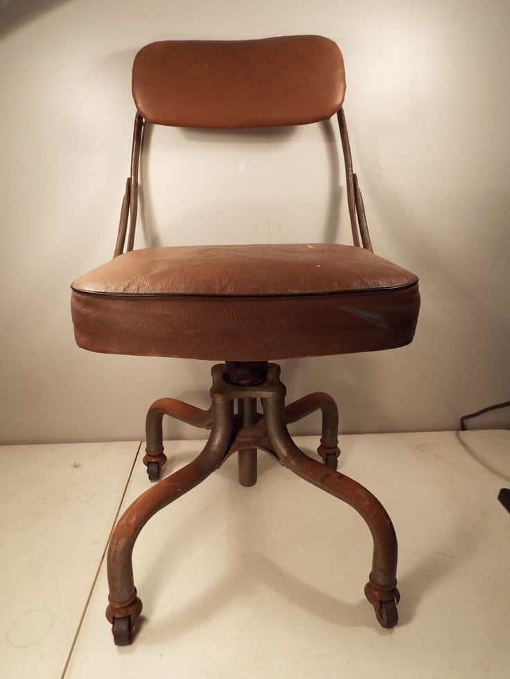 s Industrial Rolling Desk Chair by Domore Swivel fice Vintage Antique Industrial
