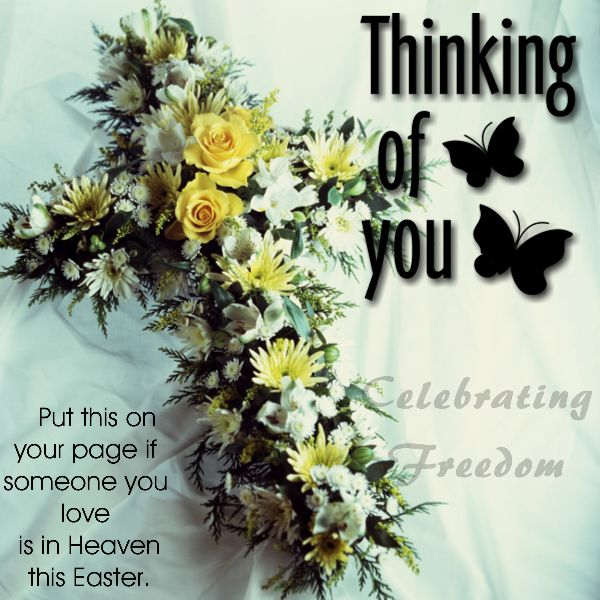 Put This On Your Page If SOmeone You Love Is In Heaven This Easter easter easter quotes easter images easter quote happy easter happy easter. easter pictures funny easter quotes happy easter quotes quotes for easter easter quotes for facebook easter in heaven quotes