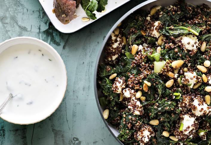 Lehtikaali-kvinoapilahvi | Koti ja keittiö