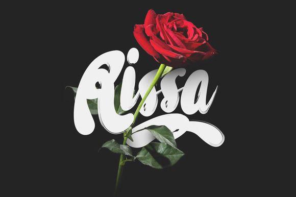 Rissa Typeface + Bonus by Maulana Creative on Creative Market
