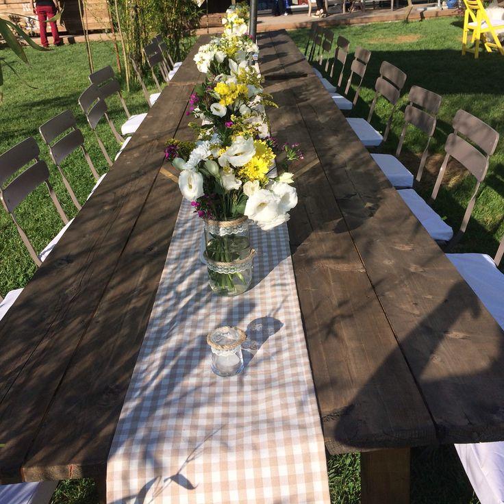 Long table set up for the open buffet menu #rabiatolga10yil #decoration #kirdugunu #masaduzeni #countrywedding #destinationwedding #wedding #flowers #table #chairs #komsukoy #esrakicioglu #eventplanner #istanbul #summer #events #dugun #instabride #instawedding #davet #organizasyon #masaduzeni