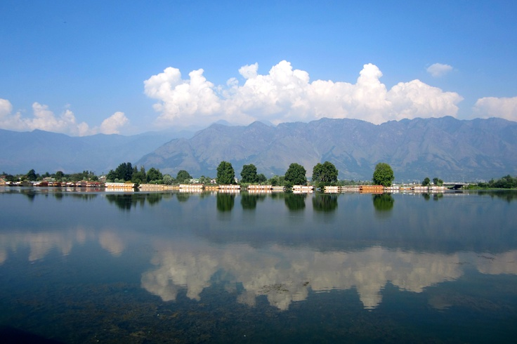 nagin lake  kashmir, india