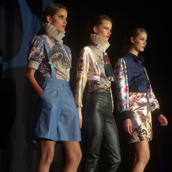 One of our students work hits the runway