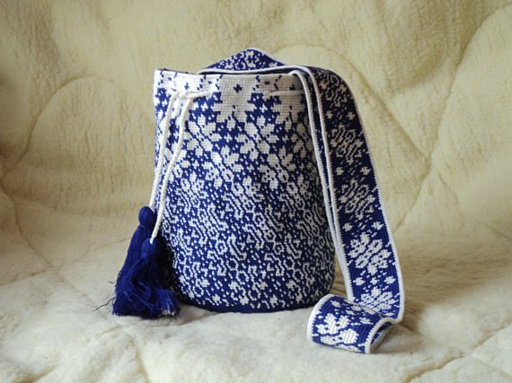 Modern Mochila Bag handmade Boho Bags Hippie Cross body Bucket