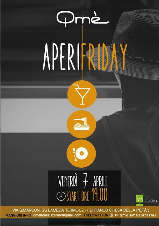Aperifriday at Qmè  L'apericena del Venerdì  _start 19.00 good food, good music  #aperifridayqmè