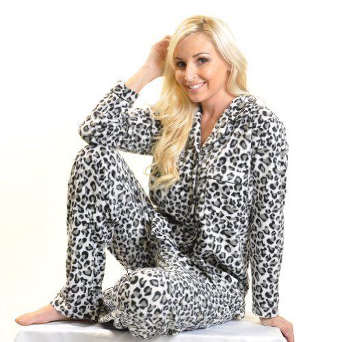 Ladies Cozy Fleece Pajama Set $25.00