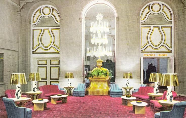 Mark Hopkins Hotel Lobby San Francisco Designed By Dorothy