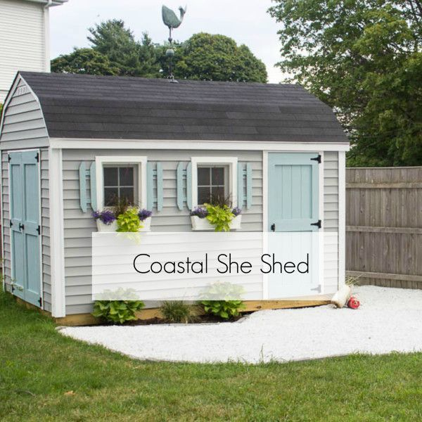 414 best images about curb appeal on pinterest yard art sheds and old bikes - Backyard sheds plans ideas ...