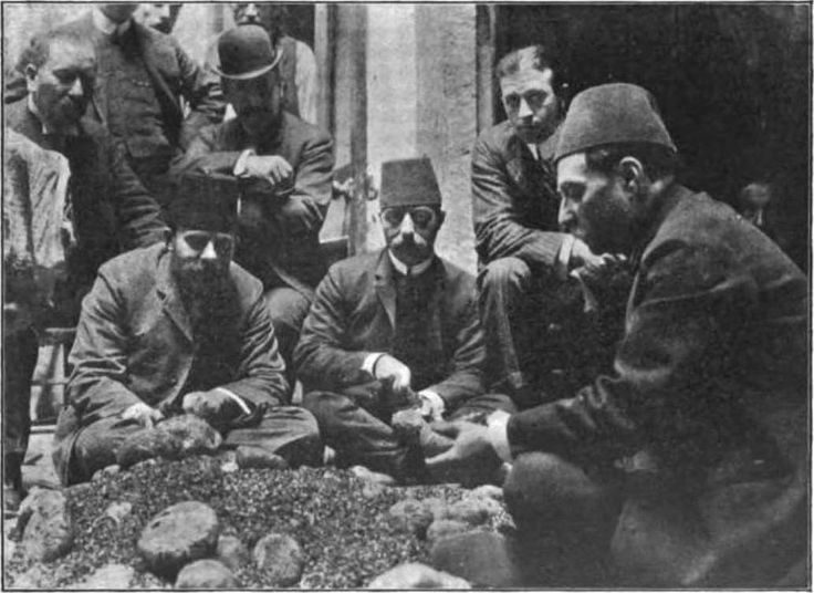 Turkish Opium Inspectors, Ottoman Empire 1907.