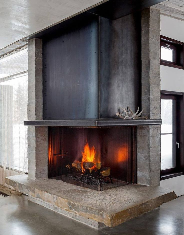 153 best fireplace soapstone stoves images on pinterest for Indoor corner fireplace