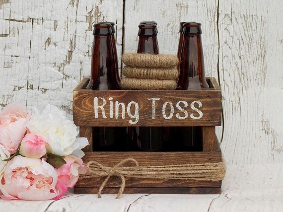 Ring Toss Game Rustic Wedding Decor Outdoor von DownInTheBoondocks