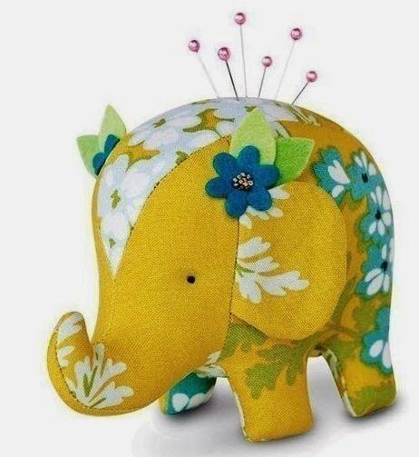 Molde de elefante de tela ~ cositasconmesh