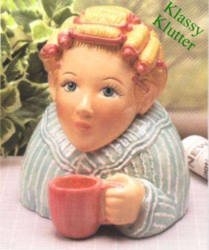 Morning Coffee - Clay Art cookie jar: Coffee Cookies, Mornings Coffee, Morning Coffee, Cookie Jars, Coff Cookies, Art Cookies, Jars 8889, Clay Art, Cookies Jars