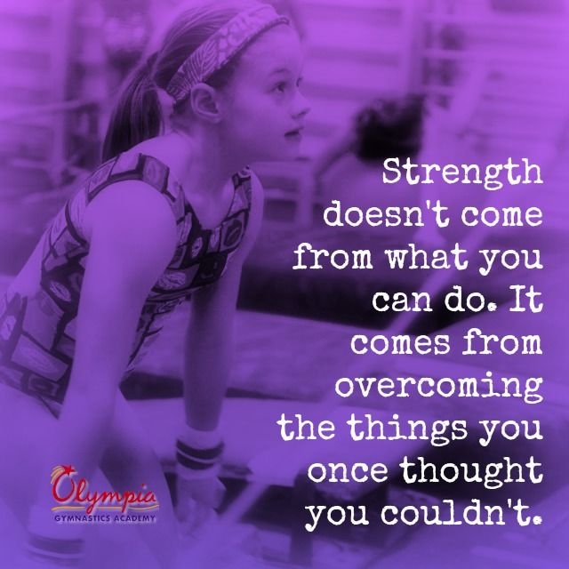 Strength doesn't come from what you can do. It comes from overcoming the things you once thought you couldn't do. #wisdom #affirmations #strength