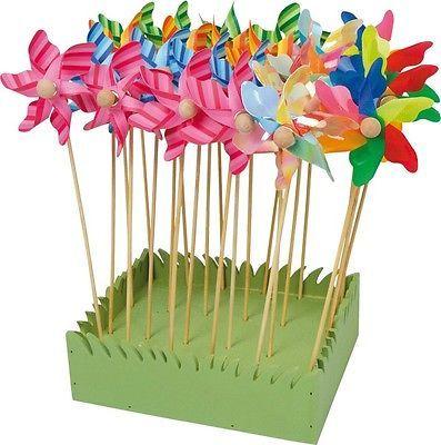 Inspirational Kleines Windrad Blume Windm hle Deko Dekoration Fr hling Garten Gartendeko bunt