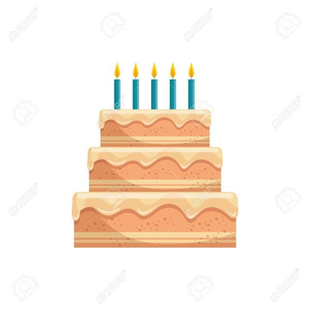 27+ Pretty Image of Birthday Cake Graphic | birthday cake
