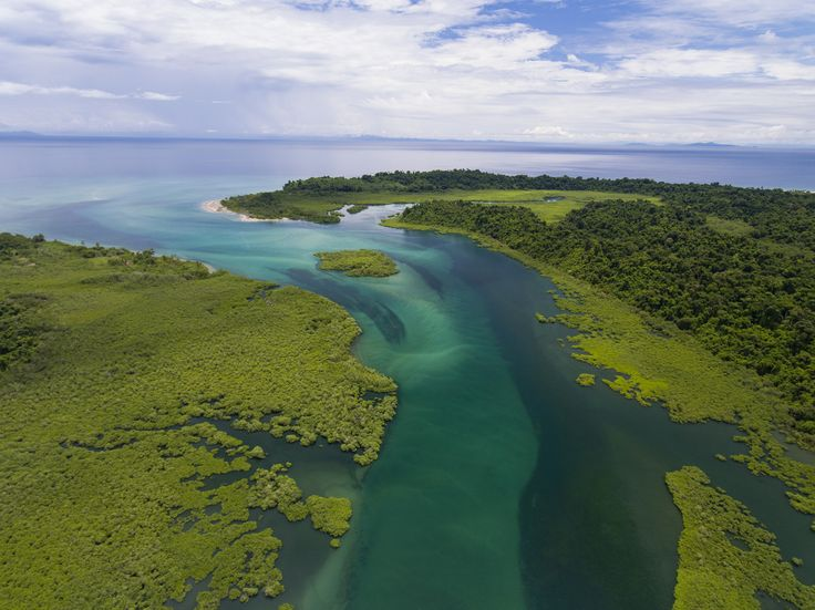 Picture of Coiba Island off coast of Panama