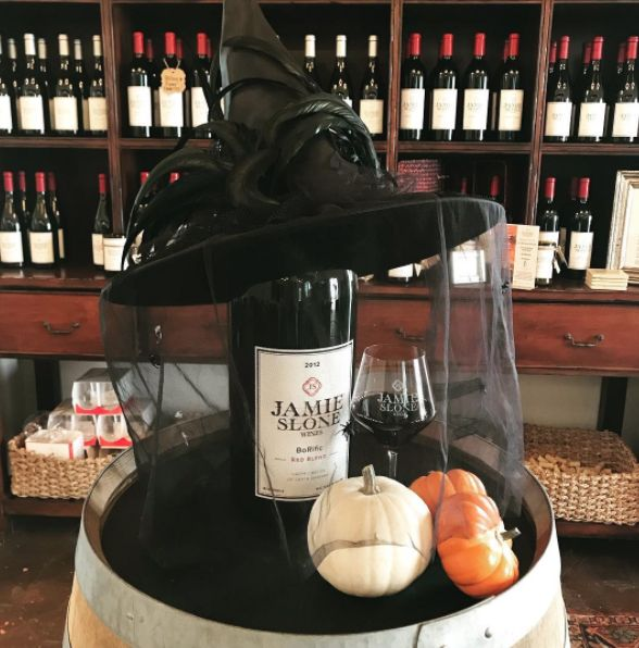 Hope you are having a BOOrific Halloween weekend. We have scary tasty wines if you DARE! 🕸🕷  #winecountry #winetime #winelovers #winetastelovers #winetasting #vino Jamie Slone Wines | Wine Tasting | Tasting Room | Santa Barbara Wine | Santa Barbara Wines | California Wines | California Winery | Santa Barbara Wine Tasting Room | Santa Barbara Tasting Room | Santa Barbara | Santa Barbara County | Santa Barbara County Wines