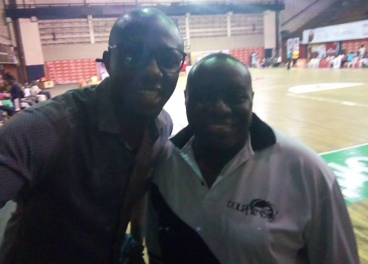 Enjoying a game of basketball with Wale Aboderin Chairman The Punch Newspapers & Dolphins Female Basketball Foundation.  So I once had a dream of playing in the NBA... Seriously at 6'4 feet I worked so had to actualize that dream in school at home everywhere it was basketball. Hmmnnnnn maybe I should have spent that time coding. No regrets though cos BB remains my first love always.  So what's my point? The dream & direction may have changed but the PASSION remains. Lesson: find what you…