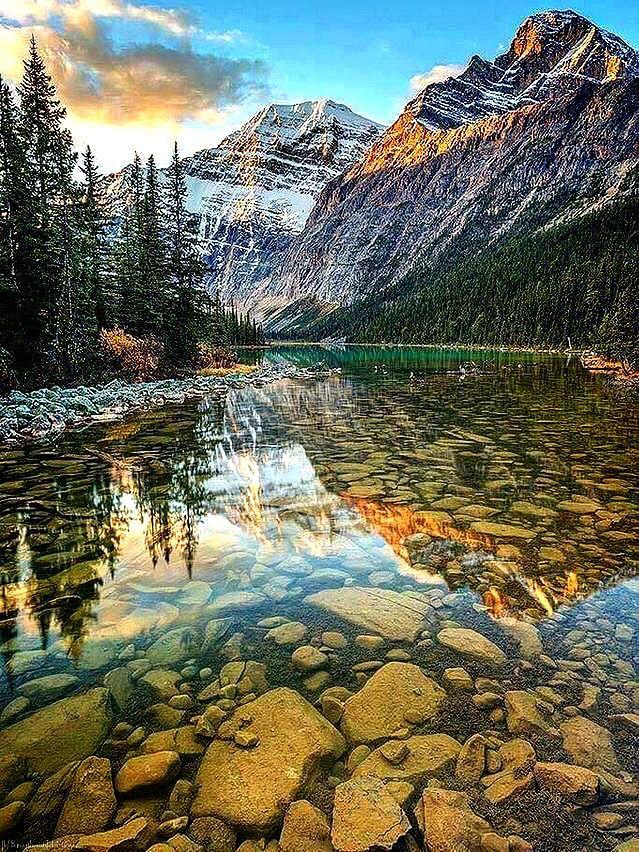 Rocky Mountains Landscape Cool Landscapes Nature Pictures