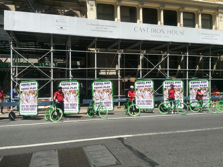 Advertising bikes on the street with your ads on them can be your best advertising campaign ever.