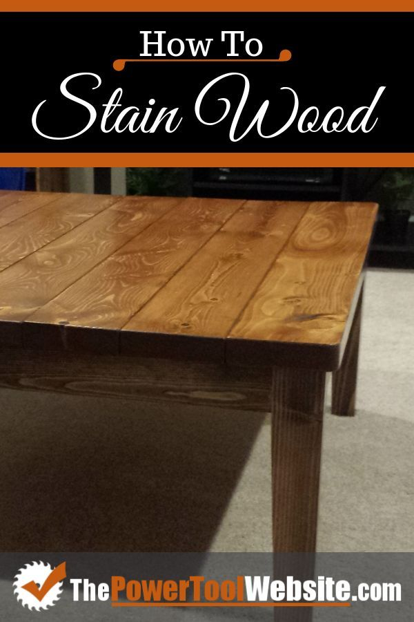 For This Pine Coffee Table Project I Ll Be Staining Wood Rustic Looking To Match My Existing Furniture See How Do With Pictures So You Can Achieve