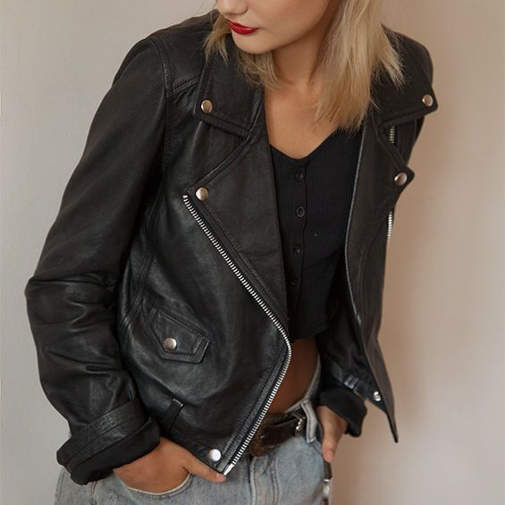Naked Vice | The Vital Leather Jacket | Dear Blackbird Boutique