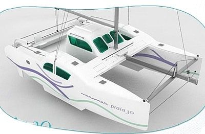 eboat - barco - catamarã