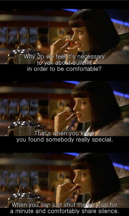 17 Best images about Pulp fiction quotes on Pinterest  Pulp fiction, Mia wal...