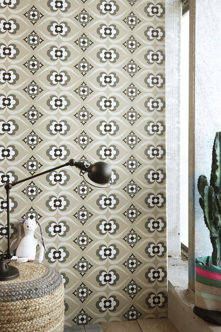 """Cozz """"Smile"""" Collection Wallpaper, #Retro #Behang"""