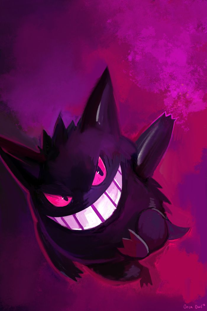 Gengar by OrcaOwl