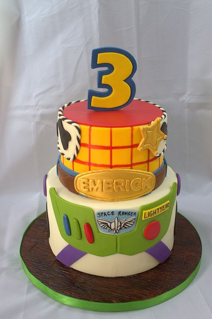 Toy Story Cake | Flickr - Photo Sharing! @Emily Schoenfeld Schoenfeld Pfister for Owen and Eli!
