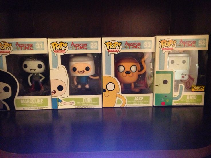 Adventure Time Funko Pops for sale! Prices do not include shipping. PayPal only. Will ship international as well.  Kyoichidesire@gmail.com  BMO Metallic - $17.00 Finn - $12.00 Jake - $15.00 Marceline - $12.00