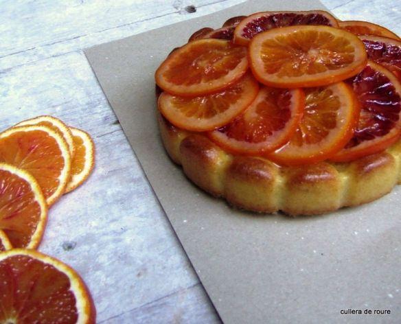 Orange cake | Pastís de taronja | culleraderoure