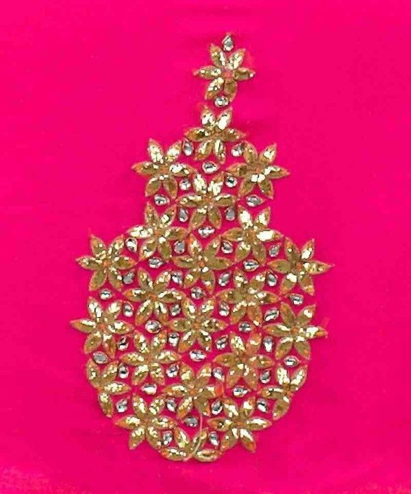 Best gota work images on pinterest embroidery designs