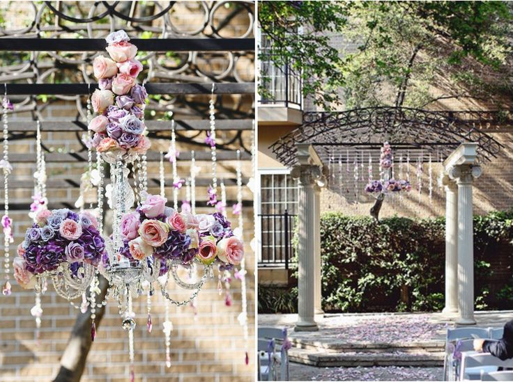 59 best images on pinterest floral chandelier wedding ideas we love floral adorned chandeliers fall flowers and reception styles wedding ideas reception decor mozeypictures Gallery