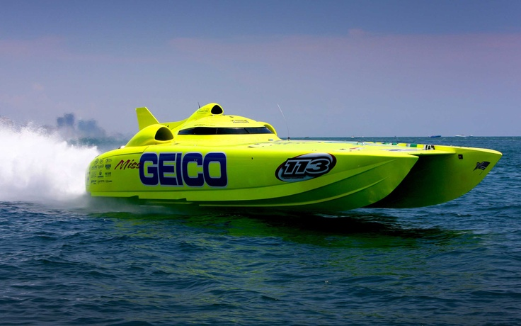 A sport I just started to follow..Offshore Powerboat racing.