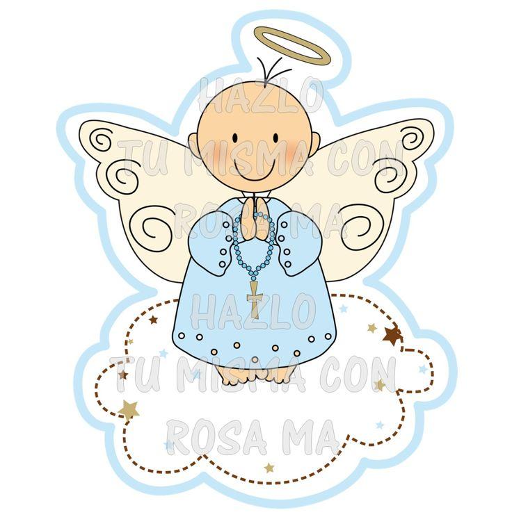 Angelitos imagenes bautizo primera comunion recuerdos - Imagenes primera comunion nino ...