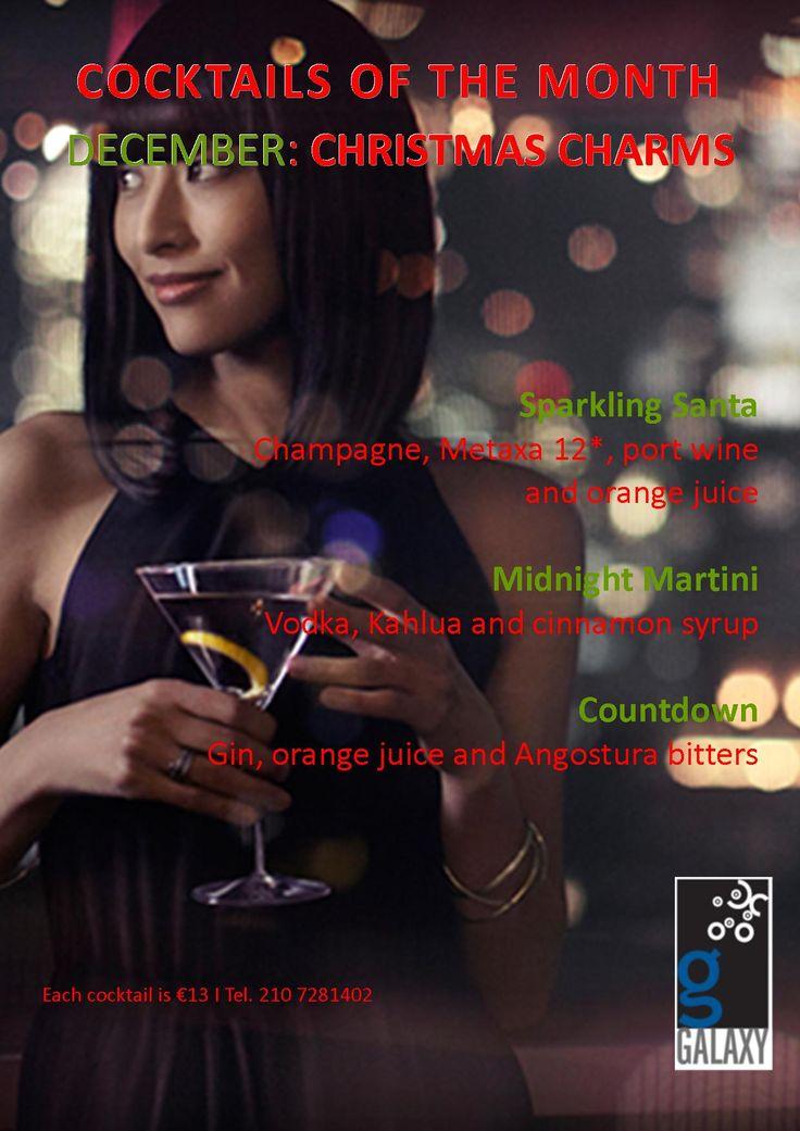 December cocktails!