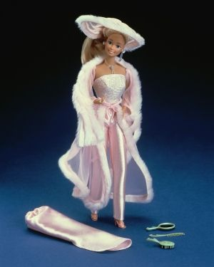 Pretty in Pink Barbie from 1981...My grandma gave me one for Christmas that year!