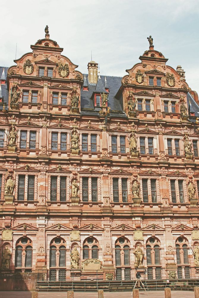 Cute Heidelberg Castle Went to see this I need to go to Heidelberg again soon
