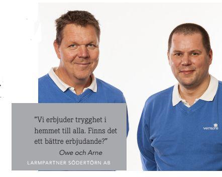 Larmpartner Södertörn AB| TjanstePortalen.se