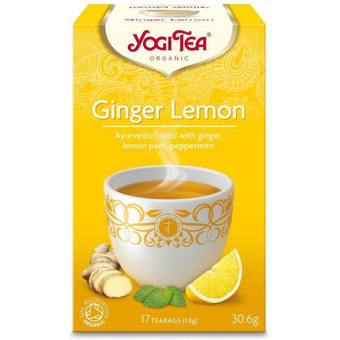 Yogi Tea Ginger Lemon
